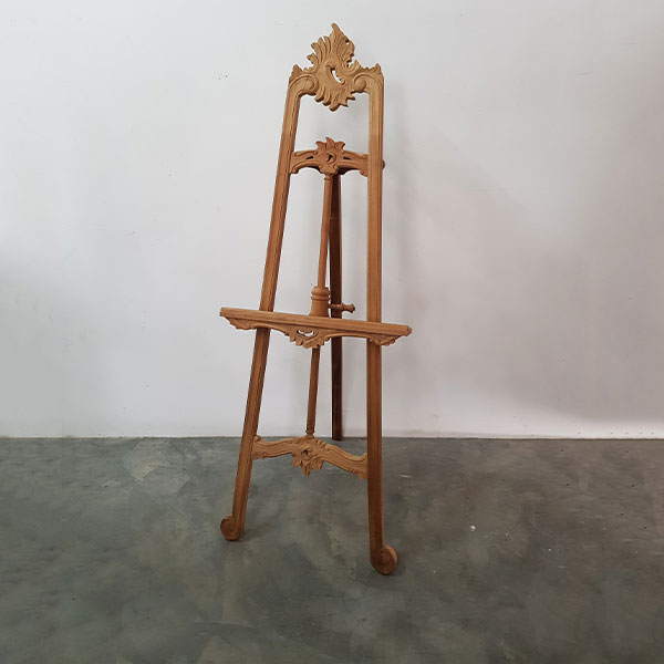 Indonesian teak wood easel - <p style='text-align: center;'>R 300</p>