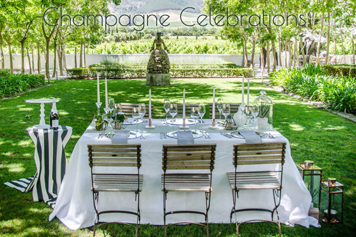 Muse Concepts Champagne Celebrations Wedding Stylist