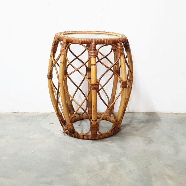 Rattan Side Table - <p style='text-align: center;'>R 150</p>