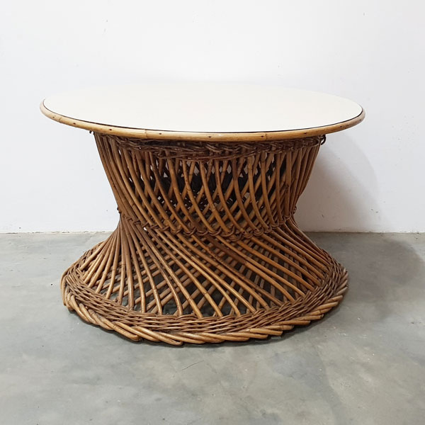 Rattan Twist Coffee Table - <p style='text-align: center;'>R 150</p>