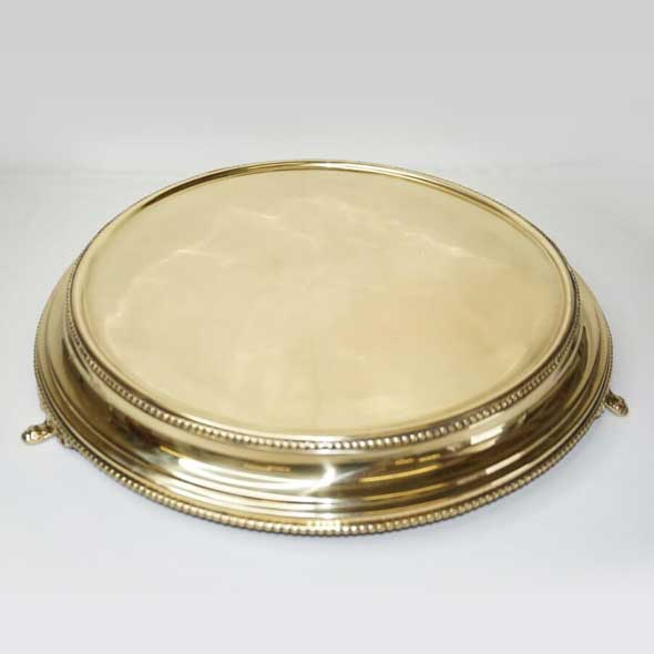 Gold Cake Stand - <p style='text-align: center;'>R 100</p>