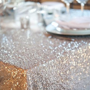 Sequin Tablecloth for Hire in Cape Town