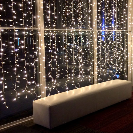 Curtain Fairy Lights for Hire in Cape Town