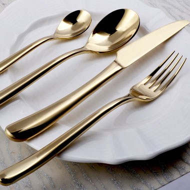 Frenchy Gold Cutlery -