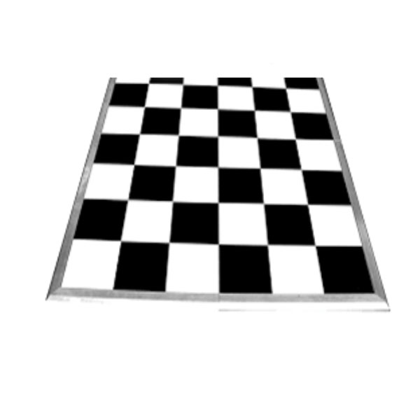Dance Floor Black & White -