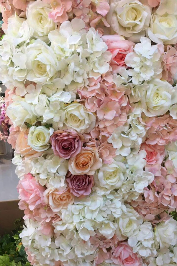 Wedding Flower Wall for Hire in Cape Town