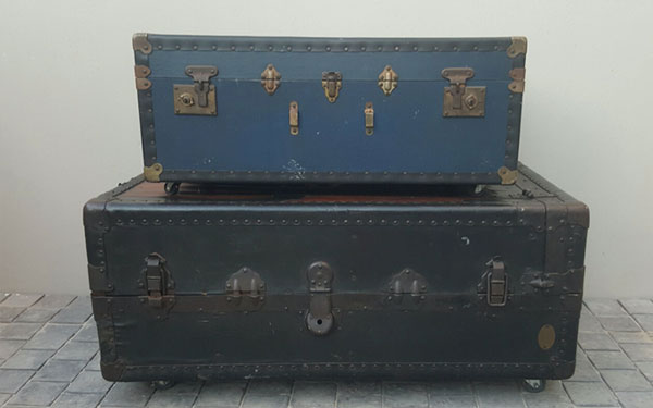 Steam Trunk Table for Hire in Cape Town
