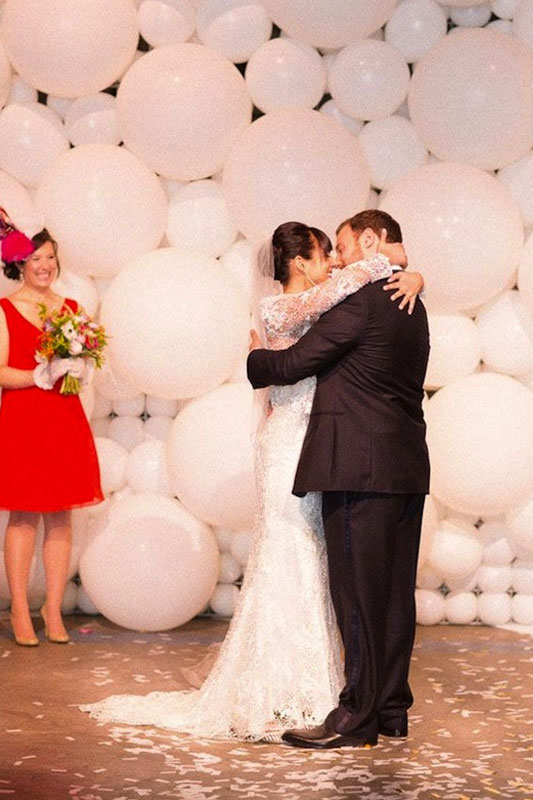 Giant Wedding Balloons for Hire in Cape Town