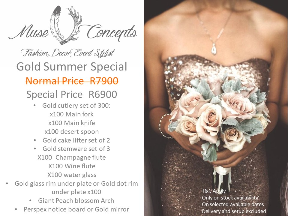Muse Decor Hire Specials