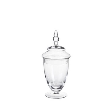 Glass Candy Jar - <p style='text-align: center;'>Large - R 45<br />
