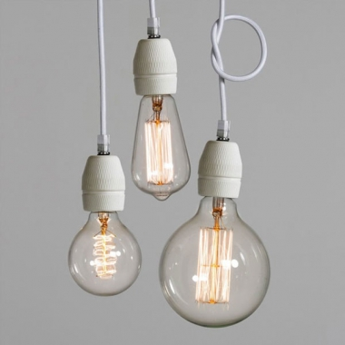 Hanging Naked Bulbs -