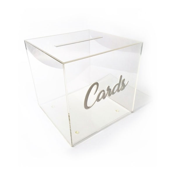 Perspex Gift Card Box - <p style='text-align: center;'>R 150</p>