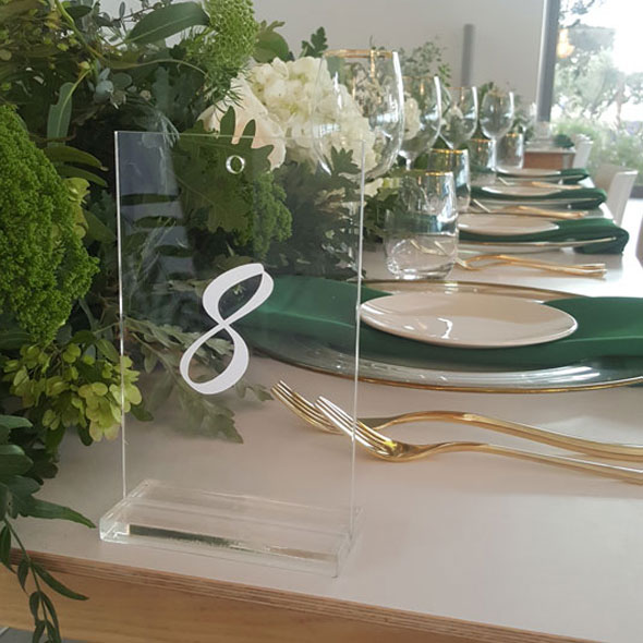 Table Seating Numbers - <p style='text-align: center;'>R 20</p>
