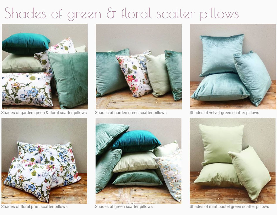 Scatter Pillow Hire in Cape Town