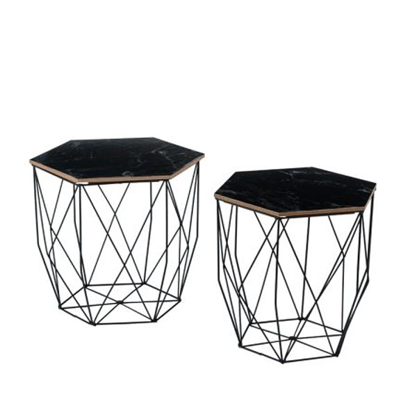 Origami Side Table for Hire in Cape Town