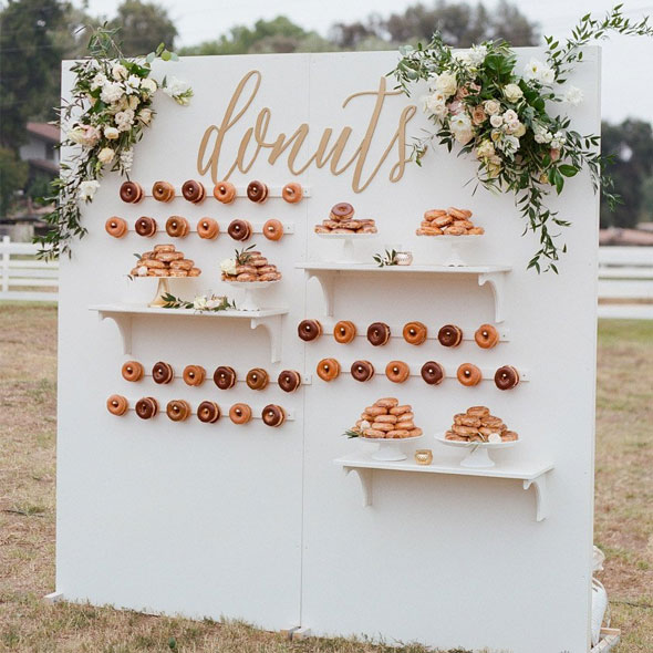 Candy & Donut Wall -