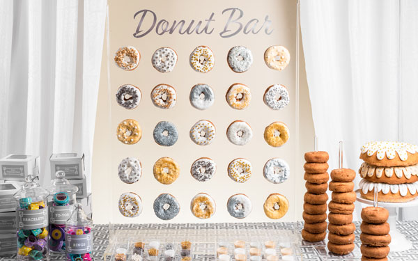 Donut Stand for Hire in Cape Town